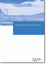 Titelbild der Publikation - National Asbestos Profile for Germany